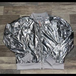 NWT Victoria secret sport metallic jacket (L)